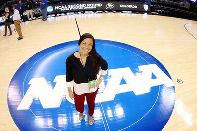 Kim Klement at NCAA